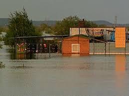 В Белогорске поднимается вода в реке Томь