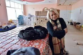 Яна Поплавская собрала 30 тонн гуманитарной помощи