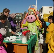В Ивановке состоялась сельскохозяйственная ярмарка