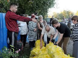 Волонтеры заявляют о том, что у них заканчиваются средства и запасы продовольствия