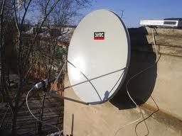 Незаконно установленные антенны в Благовещенске