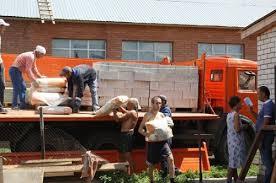 Пострадавшие благовещенцы получили стройматериалы для восстановления домов