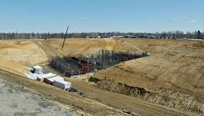 Строители космодрома Восточный ускоряют строительство