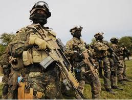 Тренировка спецназовцев в Благовещенске