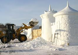 В начале декабря начнут возводить в Благовещенске снежный городок