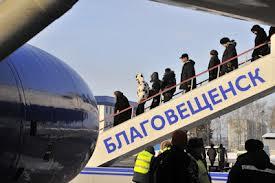 Увеличилось количество пассажиров, прошедших через международный пункт пропуска благовещенского аэропорта