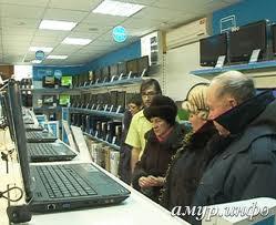 Благовещенские пенсионеры посещают компьютерные курсы
