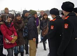 Китайские студенты учатся быть охотоведами