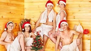 Новогодняя баня на турбазе Натальино