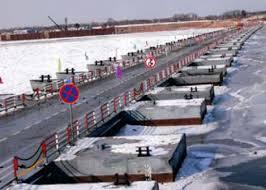 Понтонный мост между Благовещенском и Хэйхэ начал работать