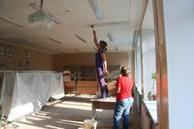 Ремонт школы в селе Кундур Архаринского района завершится в феврале