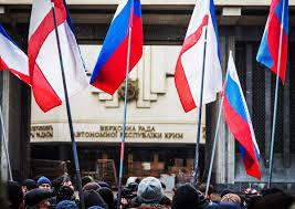 Опрос прохожих на тему присоединения Крыма