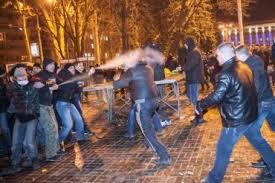 После драки в Донецке  прошли первые задержания