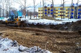 В Чигирях началось строительство жилья для подтопленцев