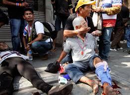В Таиланде проводятся уличные бои