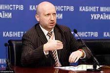 Отмена визита Турчинова в Литву