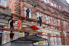 Городские власти занялись фасадами города