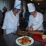 Благовещенские музыканты приняли участие в кулинарном конкурсе