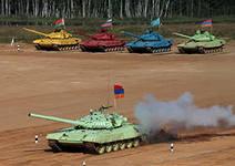 В Екатеринославке готовятся  к соревнованиям по танковому биатлону