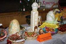 Выставка пасхальных композиций в Тынде