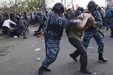 В России планируется ввести наказание за нарушения на митингах