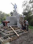 Памятник Ленину отреставрирован