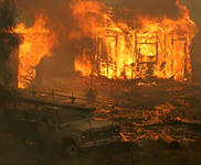 Пожар в Свободненском районе угрожает населённым пунктам