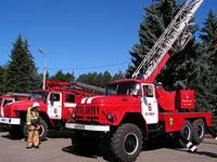В центре Благовещенска появилась пожарная техника