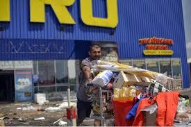 Донецкий гипермаркет разграблен жителями города