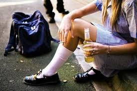 Основные причины возрастающего числа алкоголиков среди подростков