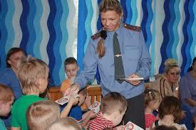 В Шимановске сотрудники Госавтоинспекции  провели занятия с детьми