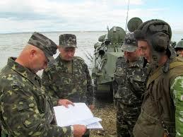 Военные Украинки провели учения