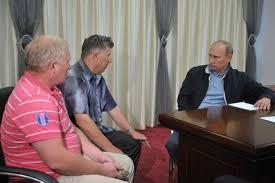 Путин встретился с благовещенскими фермерами