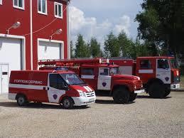Новая пожарная техника в Благовещенске и Белогорске