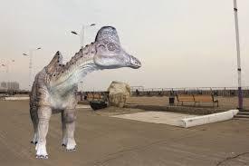В Благовещенске продается динозавр