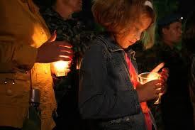 В Благовещенске прошла акция «Свеча памяти»