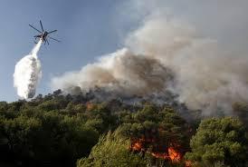 Продолжается борьба с пожарами