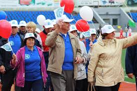Пенсионеры Амурской области участвуют в областной спартакиаде пожилых людей