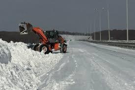 Продолжается ликвидация последствий недавнего снегопада