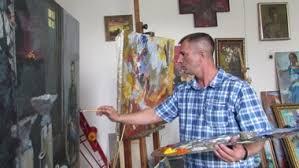 Амурский художник открыл собственную выставку