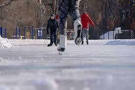 Сезон катания на коньках подходит к концу