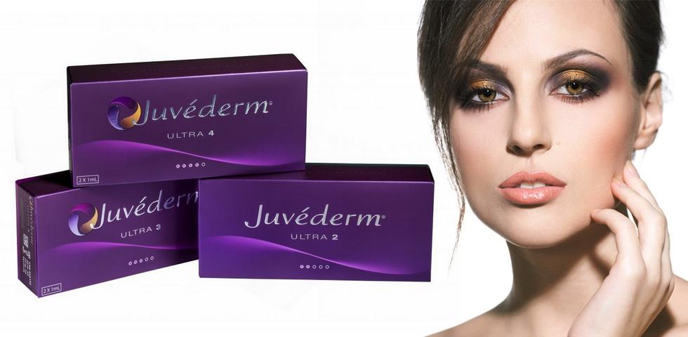 Омоложение без операции при помощи препаратов Juvederm